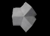 Telha de Concreto - Cumeeira 3 Vias