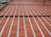 Telha de Concreto - Pré Laje com Tavela Cerâmica